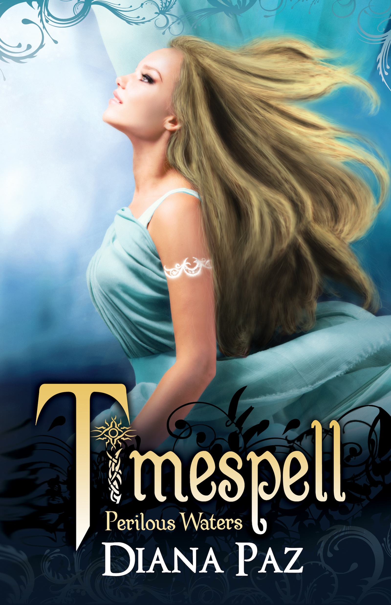 Cover Reveal: Timespell – Perilous Waters (Timespell #2) by Diana Paz